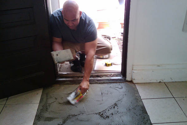 DIY Tile Installation