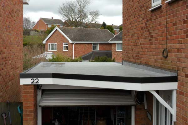 Rubber Garage Roof