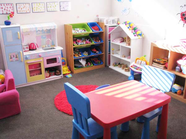 Provide a Separate Playroom