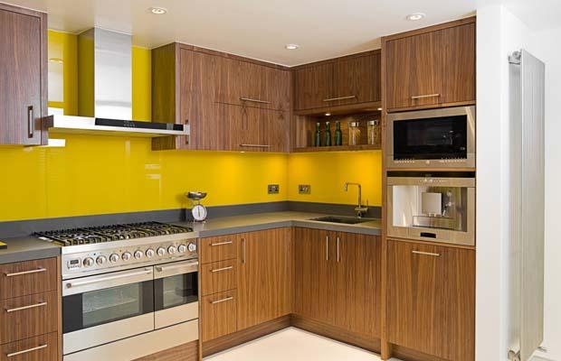 Walnut Kitchen Cabinet