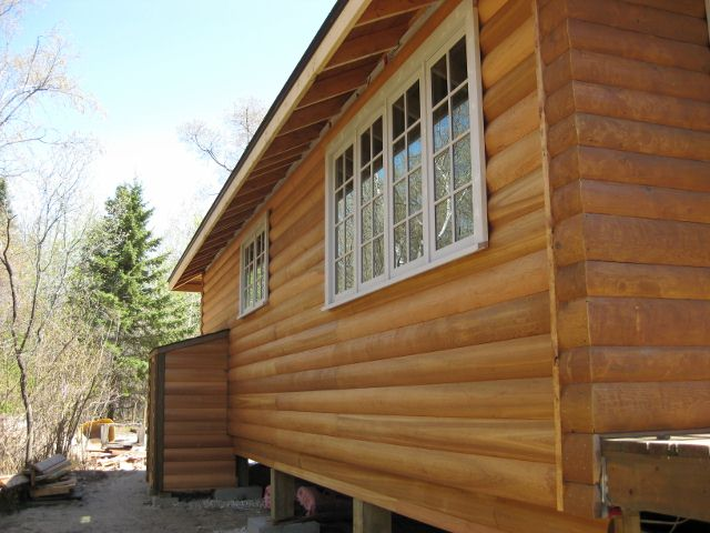 What are the many wood siding types homeib for Wood look siding