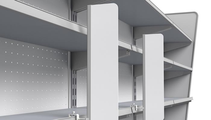Increase Your Storage Space Using Shelves Homeib