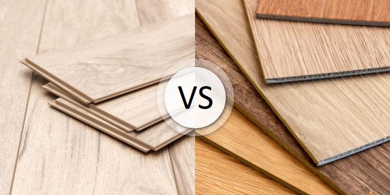 Laminate Vs Vinyl Floors Which, Luxury Vinyl Flooring Vs Laminate